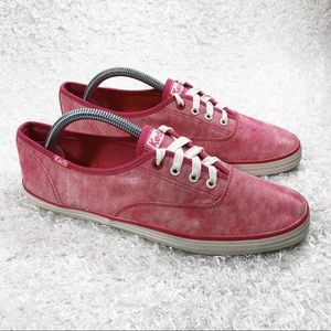 Keds Pink Lace Up Shoes
